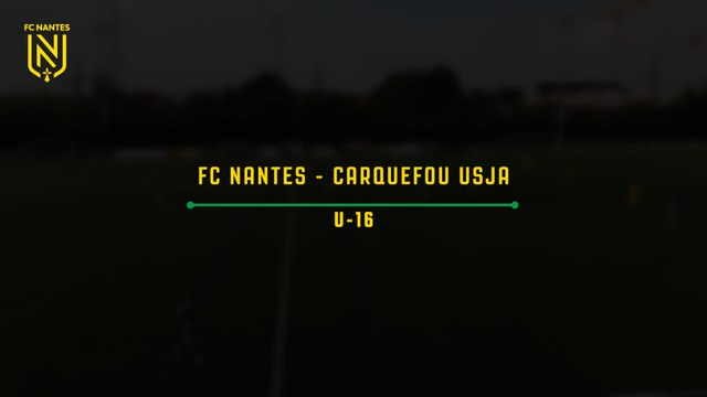 U16. Les buts de FC Nantes - Carquefou USJA