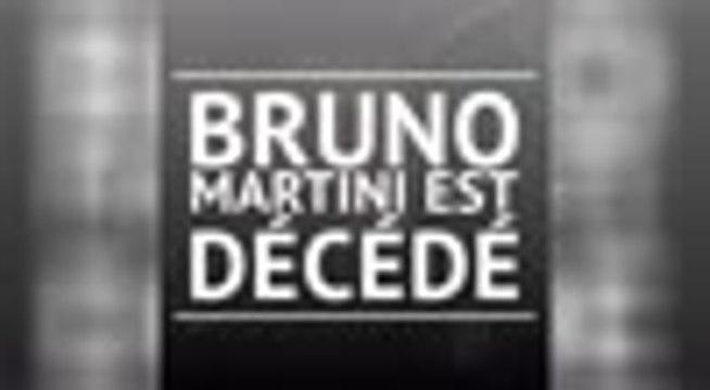 Décès - Bruno Martini s'est éteint à l'âge de 58 ans