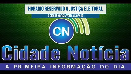 Veja e reveja o programa Cidade Notícia desta terça-feira (20) pela Líder FM de Sousa-PB