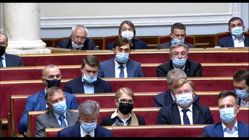 Владимир Зеленский с Посланием к Верховной Раде и народу Украины