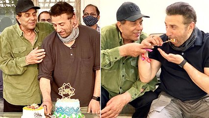 Dharmendra Celebrated Sunny Deol's 64th Birthday In 'Deol Style'