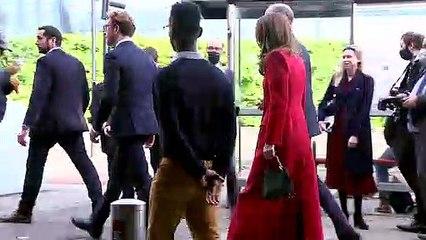 Duke and Duchess of Cambridge view Hold Still exhibit