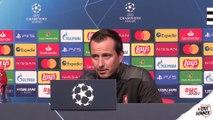 J1. UEFA Champions League - SRFCKRA - Lavant-match avec Julien Stephan et Damien Da Silva