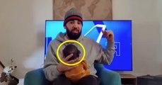 La vidéo complètement folle de Mohamed Henni avec son bébé