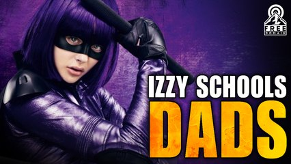 A+ Parenting: IZZY SCHOOLS DADS!