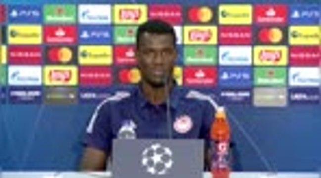 "Olympiakos - Ba : ""Content d'affronter Marseille"""