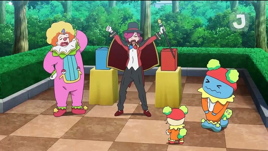 Pokemon Saison 23 Épisode 19 - Un grand talent d'imitateur !