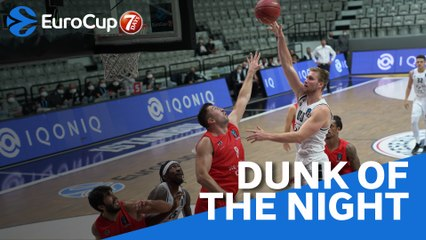 7DAYS EuroCup Dunk of the Night: Eric Mika, Partizan NIS Belgrade