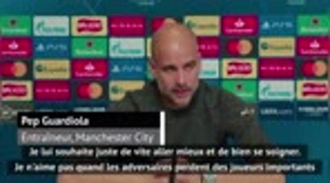 """Liverpool - Guardiola fair-play envers van Dijk : """"Je lui souhaite de vite revenir"""""""