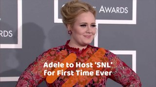 Adele Joins SNL