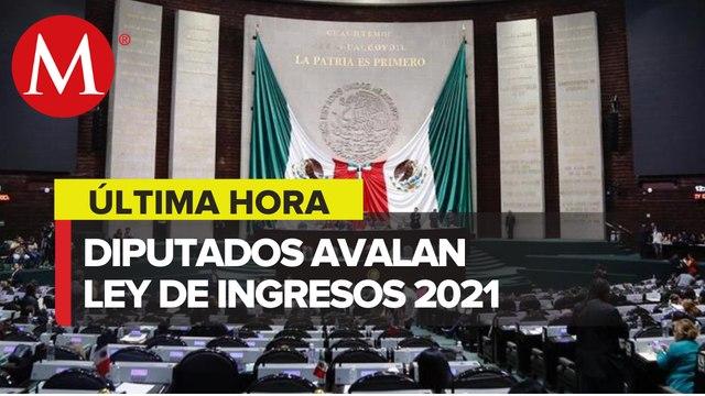 Diputados avalan en comisión Ley de Ingresos 2021 con reducción de 33 mil mdp