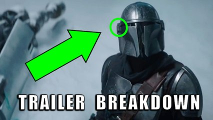 The Mandalorian Season 2 NEW Trailer Breakdown! (Ahsoka Tano & Sabine Wren?!)