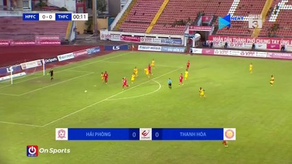 """Highlights - Hải Phòng FC – Thanh Hóa FC - """"Cơn ác mộng"""" Nghiêm Xuân Tú - Mpande - NEXT SPORTS"""