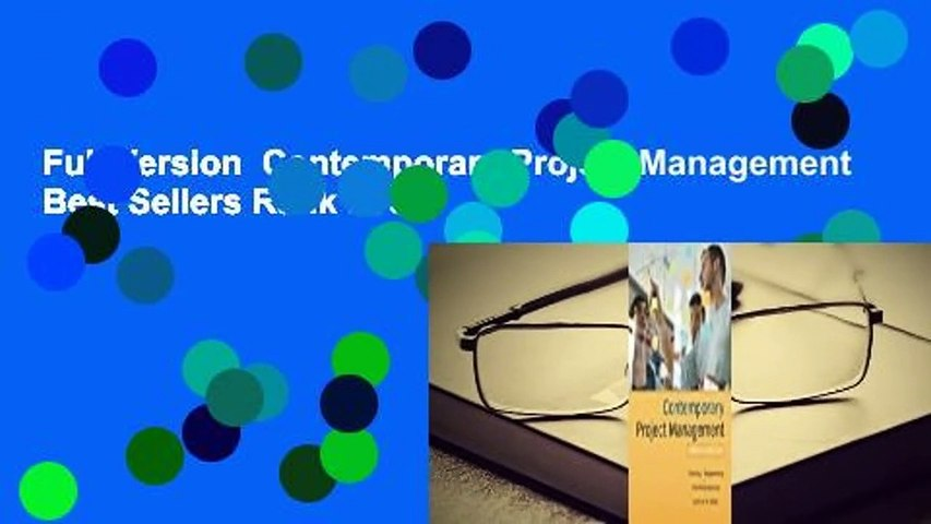 Full Version  Contemporary Project Management  Best Sellers Rank : #5