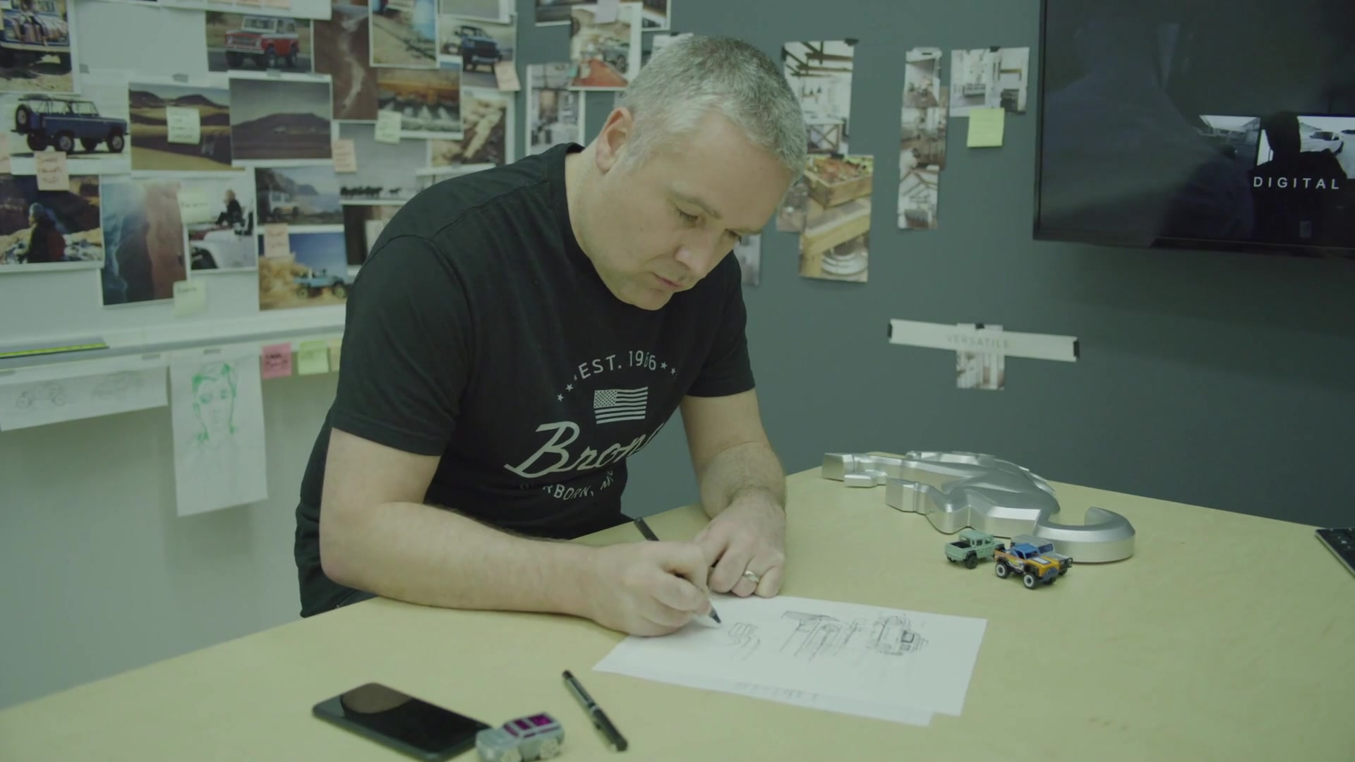 Paul Wraith Ford Bronco Designer