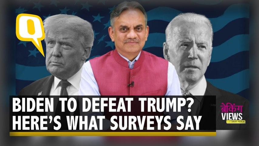 Defeat for Trump: Surveys, Betting Market Predict US Elections