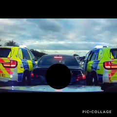 Police stop fleeing BMW on the M1 in Northants