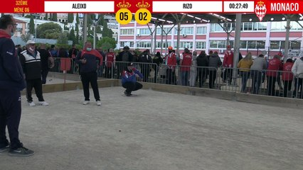 32ème ALEIXO vs RIZO International à pétanque de Monaco - Octobre 2020