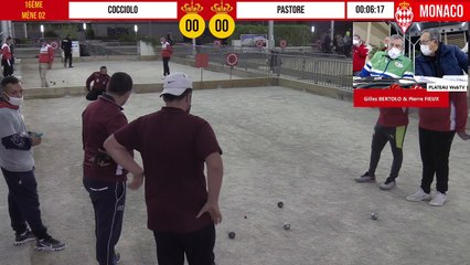 16ème COCCIOLO vs PASTORE International à pétanque de Monaco - Octobre 2020