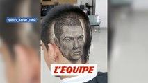 Quand une coiffure laisse apparaître le visage de Ronaldo - Foot - WTF