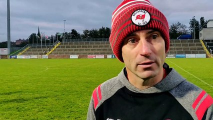Derry manager Rory Gallagher delighted as Derry defeat Longford