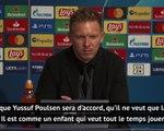 """Groupe H - Nagelsmann : """"Angelino a travaillé avec Pep Guardiola, un grand entraîneur"""""""