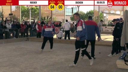 Démonstration de force Quart ROCHER vs DUCHEIN International à pétanque de Monaco - Octobre 2020