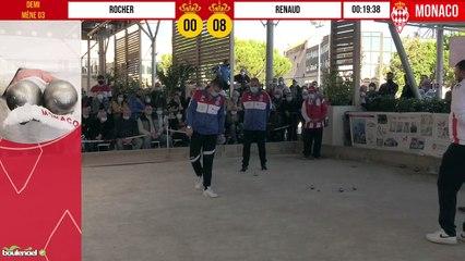 Demi-finale ROCHER vs RENAUD International à pétanque de Monaco - Octobre 2020