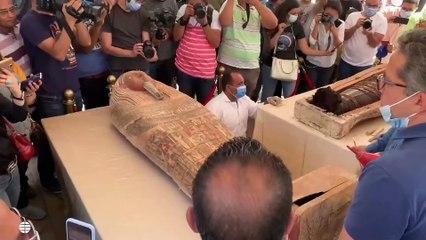 El espectacular hallazgo del cementerio faraónico de Saqqara