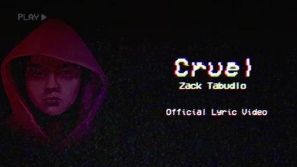 Zack Tabudlo - Cruel
