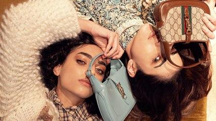 فيديوشوت: لانا البيك وديما الشيخلي تجمع بينهما شنطة Jackie 1961 من Gucci