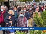 A la Une : Vibrant hommage à Samuel Paty un peu partout dans la Loire / Trois ligériens ont écrit leur confinement / La fête de la pomme revisitée - Le JT - TL7, Télévision loire 7