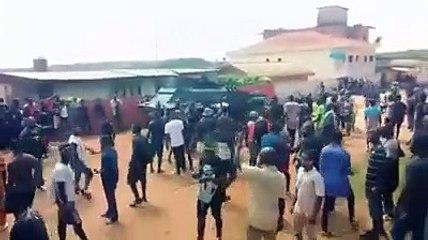 Dabou: des blindés de la gendarmerie dans la ville