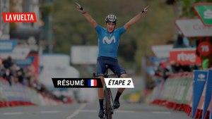 Résumé - Étape 2   La Vuelta 20