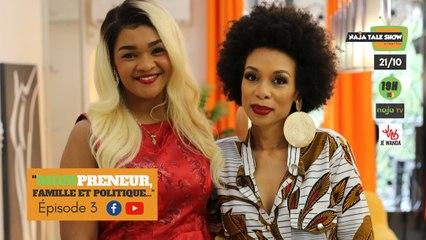 """""""Mompreneur, famille et politique"""" - Hon. Nourane Fotsing dans Naja Talk Show by Céline V. Fotso..."""