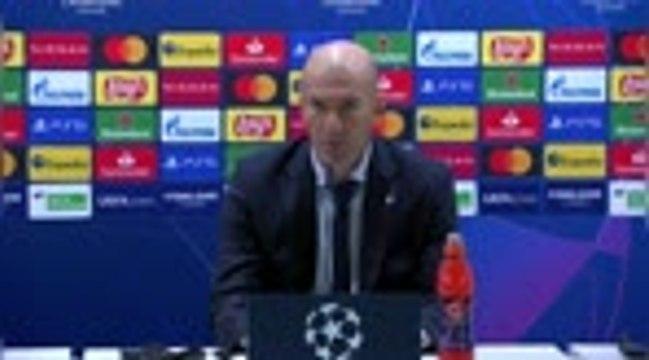 "Groupe B - Zidane : ""Il va falloir relever la tête"""