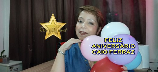 FELIZ ANIVERSÁRIO CAIO FERRAZ!