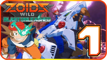 Zoids Wild: Blast Unleashed Walkthrough Part 1 (Switch) Arashi & Liger