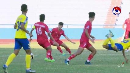 Highlights | Phú Thọ - Nam Định | Thành bại quyết định trên chấm 11m | VFF Channel
