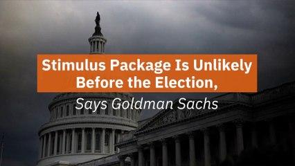 Goldman Sachs On Stimulus