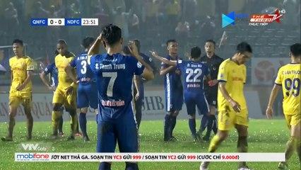 QUÁ CĂNG! 2 thẻ đỏ trong 15 phút -đốt cháy- trận Quảng Nam - Nam Định! - NEXT SPORTS