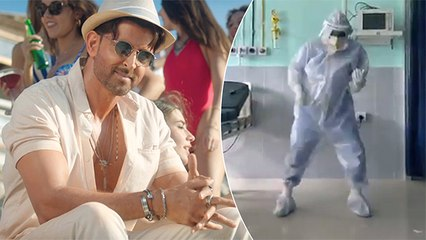 Hrithik Roshan Is Impressed With This Doctor Dancing In PPE Kit