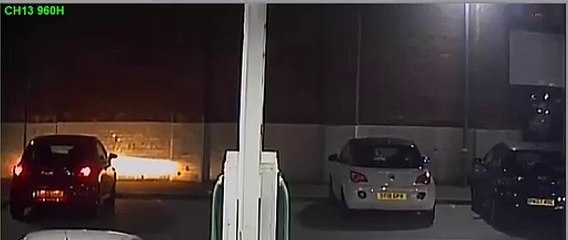 CCTV of car theft from Tesco Express in  Whitegate Drive, Blackpool