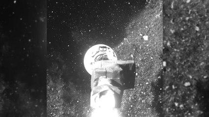 NASA kicks up dust on Asteroid Bennu