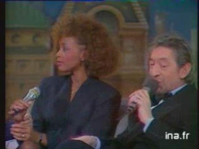 Rencontre Whitney Houston et Serge Gainsbourg
