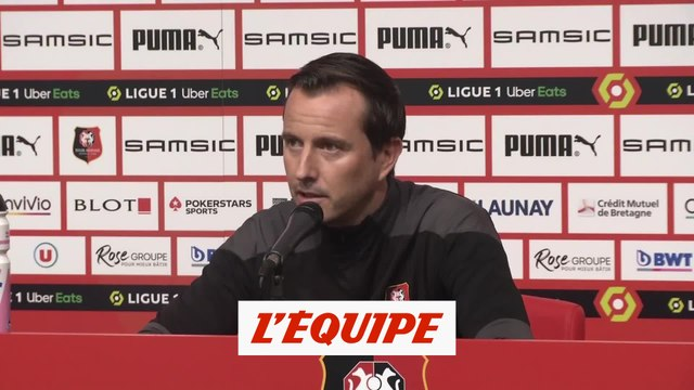 Stéphan : « Niang avance bien » - Foot - L1 - Rennes