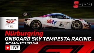 LIVE - Paul Ricard 2020 - ONBOARD WITH - SKY - Tempesta Racing Ferrari. CAR 93