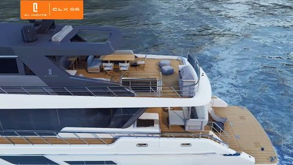 GRAND REVEAL: The CL Yachts CLX96 is Officially Here