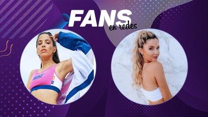 Cande Molfese y Stephie Demner en Fans en Redes