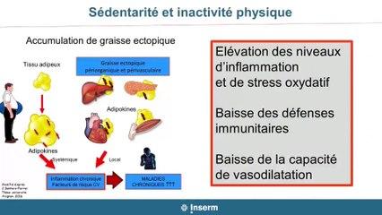 Colloque développer la pratique d'activité physiques ou sportives en milieu professionnel - Intervention du Pr François Carré et Laurent Fleury